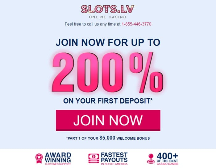 Slots lv Casino online