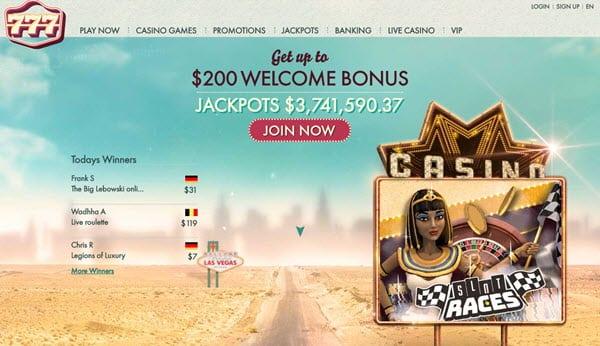 777.com Casino Online