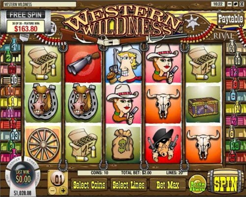 Western Wildness Slots
