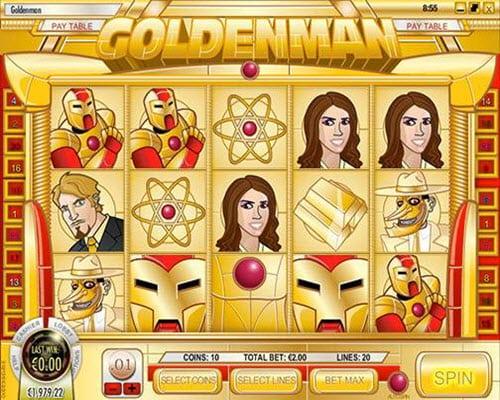 Goldenman Slots