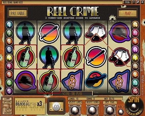 Reel Crime 1 Bank Heist Slots