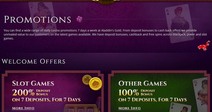 AladdinsGold Promotion