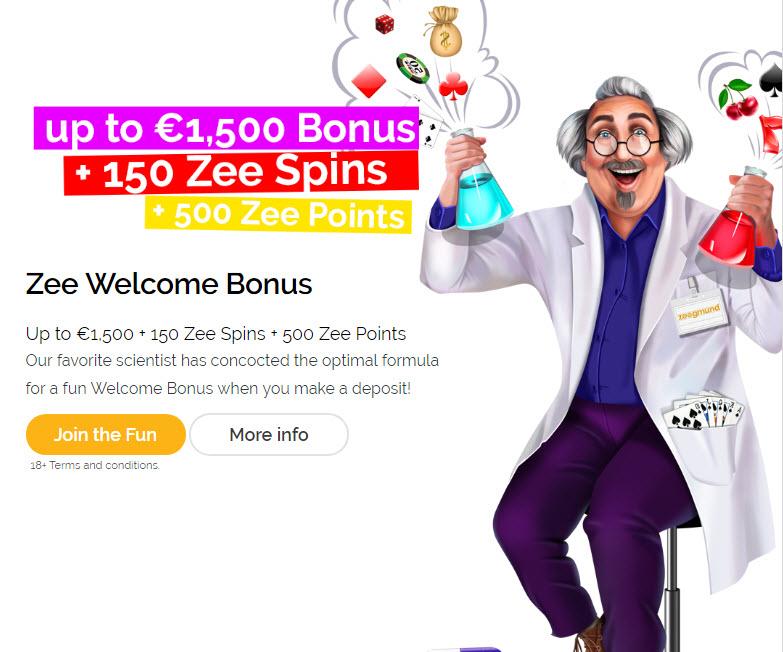 Playzee Casino Bonus
