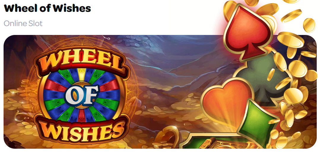 wheel of wishes slots