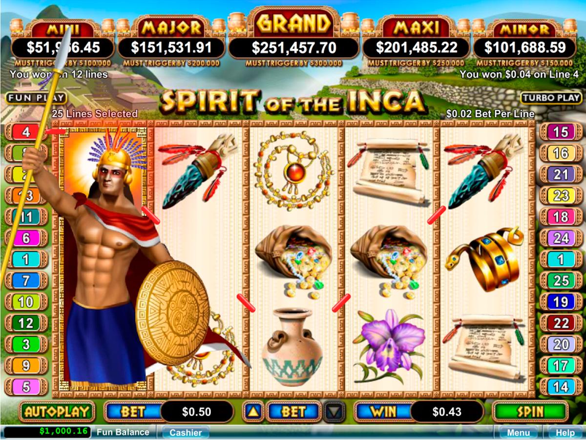 Spirit of the INCA Slot Review