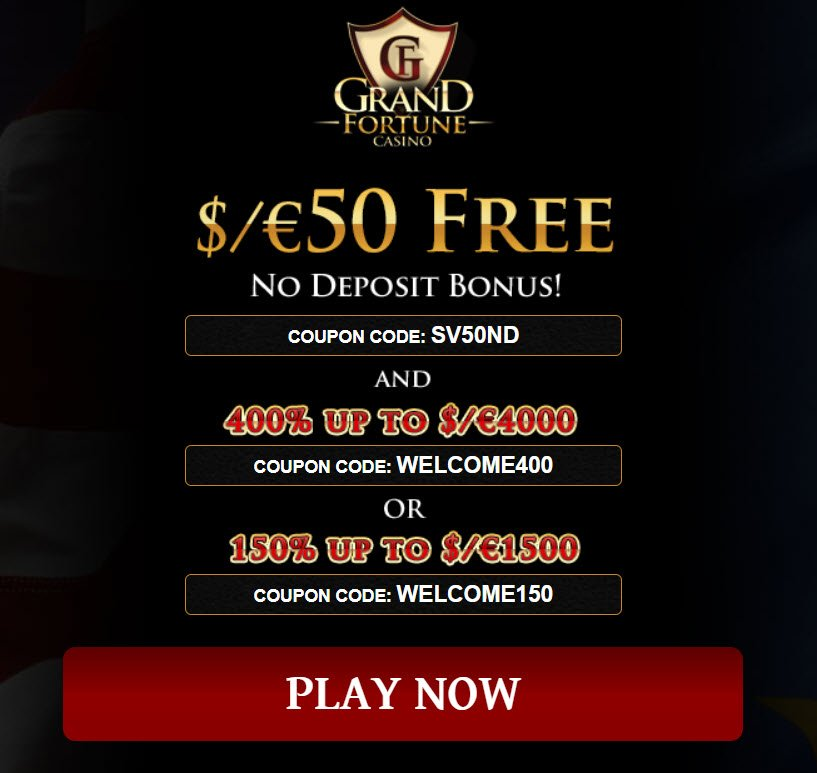 Grand Fortune Casino No Deposit Bonus Codes 50 Free