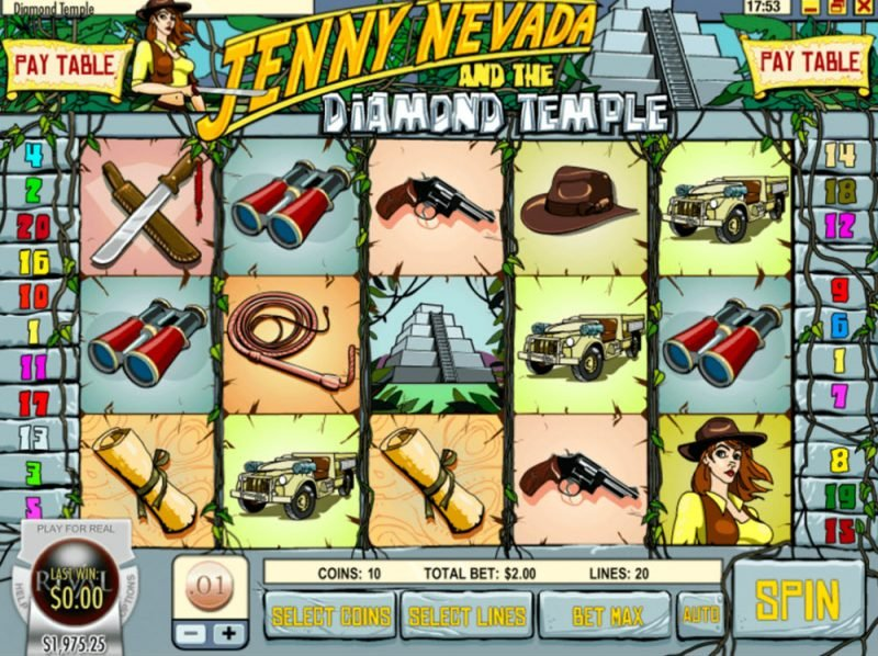 Jenny Nevada Slot Game