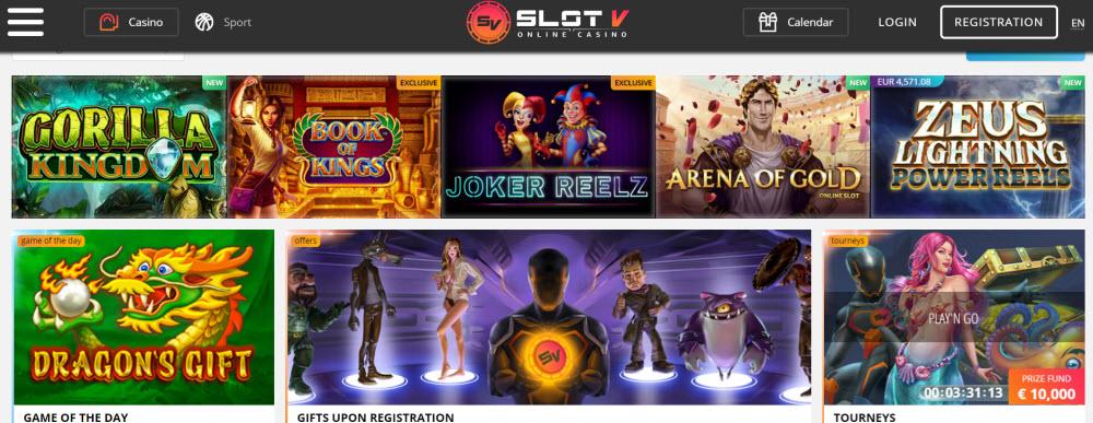 Slotv Casino no deposit bonus