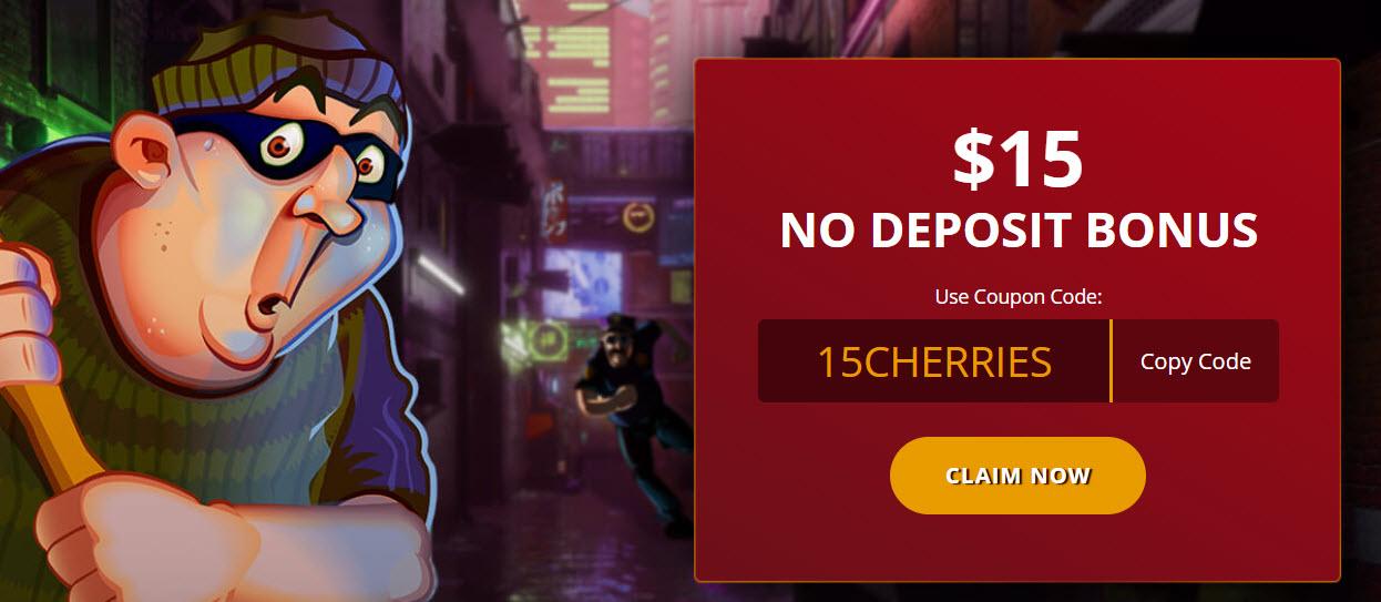 cherry gold casino no deposit bonus codes $15 Free
