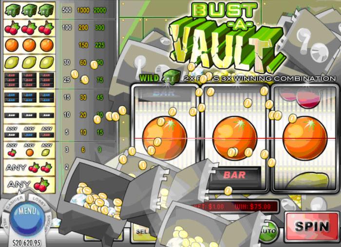 Bust a Vault Slot