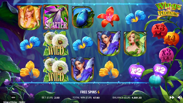 Magical Wings of Riches Slot