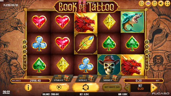 Book of Tattoo 2 Slot