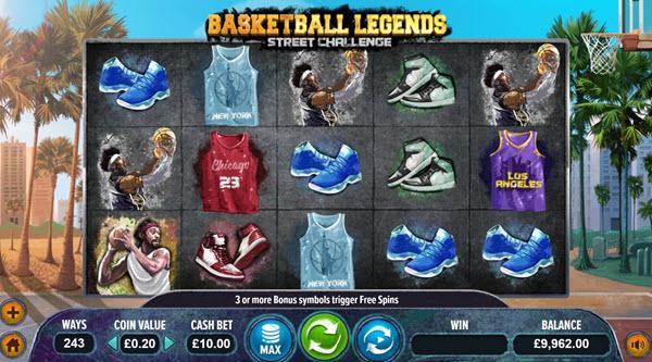 Basketball Legends Slots