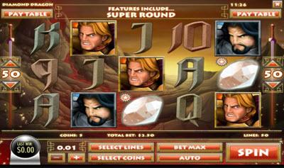 Diamond Dragon Slots